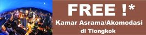 Free Dormitory Slogan